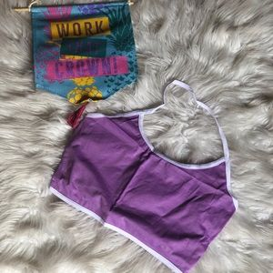 Tops - Lavender halter top